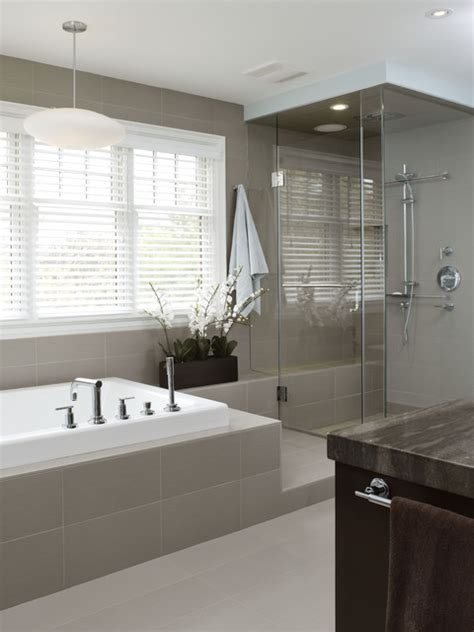 Modern Bathroom Tile Design Images Richmond Hill Project Master Bathroom Contemporary