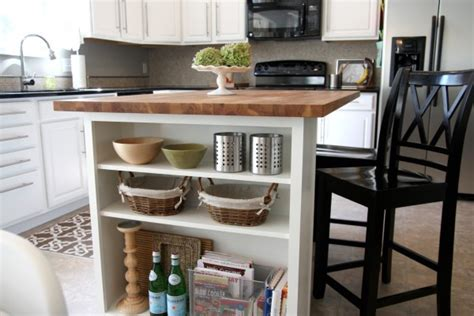 kitchen island with shelves house tweaking