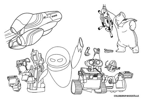 Wall E Coloring Pages by Wall E Coloring Pages To And Print For Free