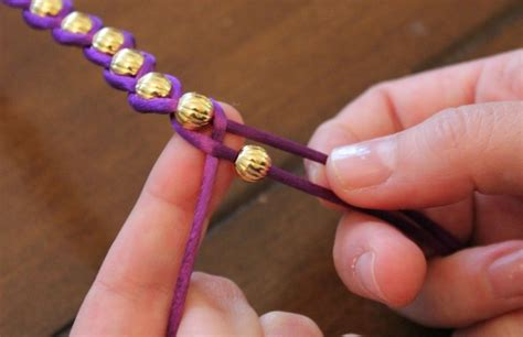 how to tie bead bracelets embellished wrap bracelets 183 how to braid a braided bead