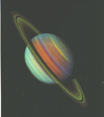 voyager pictures of saturn voyager images voyager took of saturn