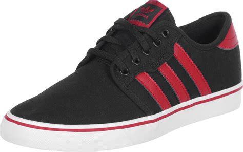 adidas red shoes adidas seeley shoes black red