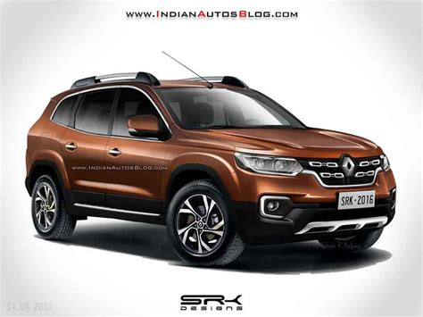 2018 Renault Duster Imagined Looks Sportier Rendering