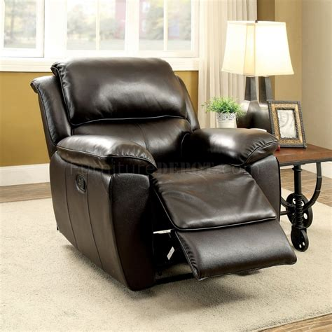 dark brown leather reclining sofa keara reclining sofa cm6984 in dark brown leather match