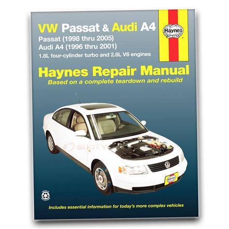 Volkswagen Vw Passat Haynes Repair Manual Gl Tdi Gls 4