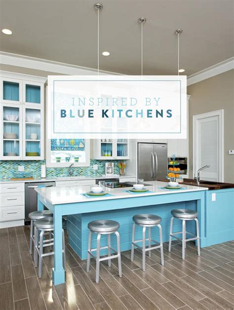 Blue Kitchens by 1000 Images About Blue Kitchen Cabinets On