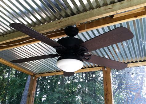ceiling fan for screened porch what i learned building a screened in porch