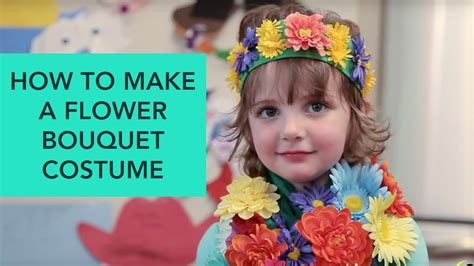 how to make a flower costume with pictures wikihow how to make a flower bouquet costume easy diy halloween