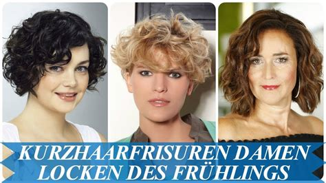 unsere top  kurzhaarfrisuren damen locken trends des