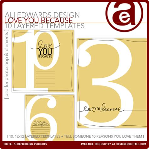 Template I Got My Library Card Today by Ali Edwards Design Inc You Because