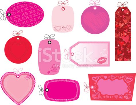 valentines name valentines name tags stock vector freeimages