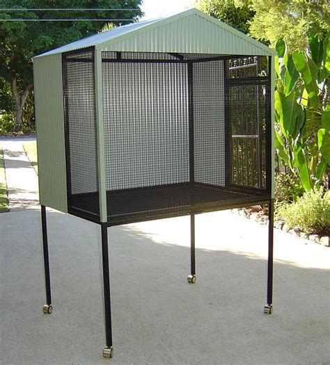 Cleaning Bird Patio by Patio Style Custom Built Aviaries
