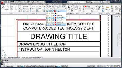 sketchup layout title block adding text and stretching the title block youtube