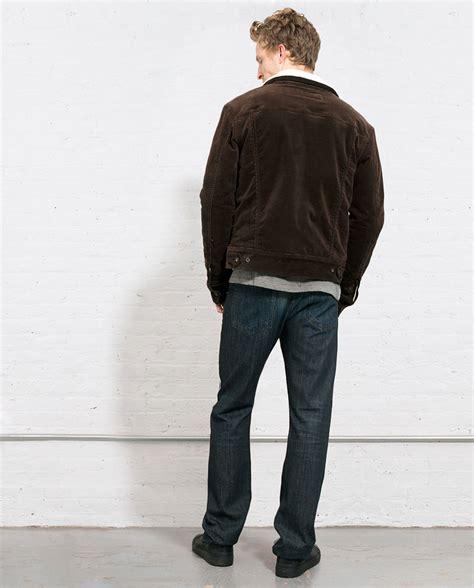 Choco Blazer Fleece rag bone jean jacket w fleece chocolate in brown for lyst