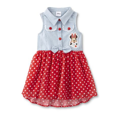 toddler dresses disney baby minnie mouse toddler s sleeveless dress
