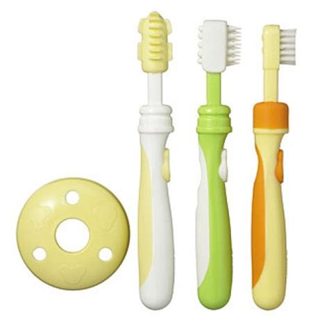 Baby Toothbrush Set T1310 2 pigeon baby toothbrush