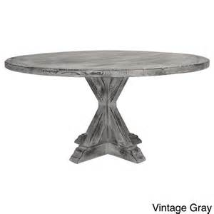 Overstock Dining Room Sets la phillippe reclaimed wood round dining table overstock com