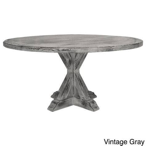 La Phillippe Reclaimed Wood Dining Table Overstock Com