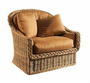 Large scale lounge chair wicker material indoor furniture the