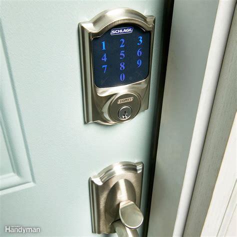 Bluetooth Front Door Lock All About Smart Door Locks Keyless Entry Bluetooth And More The Family Handyman