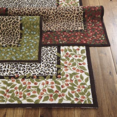 Leopard Kitchen Rug Rug Leopard Print Area Rug Blooming Roses Rug Rug W Border Of Roses The