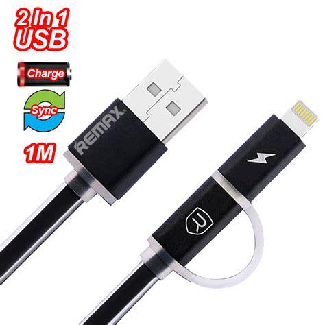 Remax Fast Data Cable Micro Usb 1m Biru remax data line 2 in 1 apple micro usb data cable 1m logon shopping malaysia