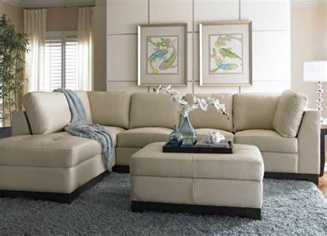 small cream leather sofas  cozy  elegant small