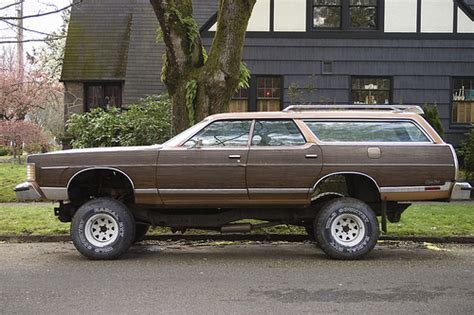 4x4 station wagon the baddest wood paneled station wagon ever a photo on
