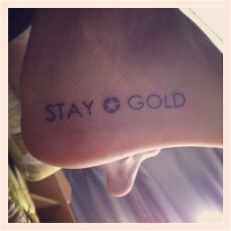 nothing gold can stay tattoo stay gold ponyboy