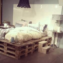 Used Wood Bed Frame 9 Ways To Create Bed Frames Out Of Used Pallet Wood