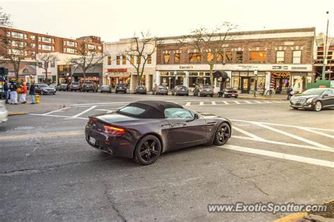 Aston Martin Michigan by Aston Martin Vantage Spotted In Birmingham Michigan On 01
