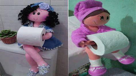 clever toilet paper holders cool unique toilet paper holder dolls funny toilet