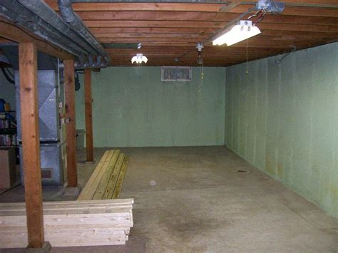 Unfinished Basement And Unfinished Basement Ceiling Is A Low Ceiling Basement Ideas
