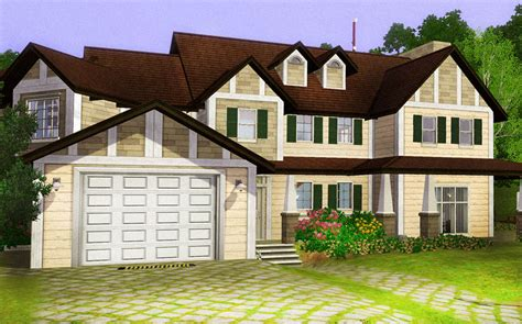 the comfort housing mod the sims family comfort home with swimming pool and