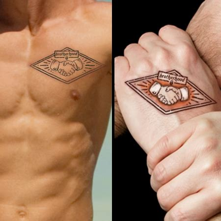 brother matching tattoos brotherhood for brothers cool ideas for