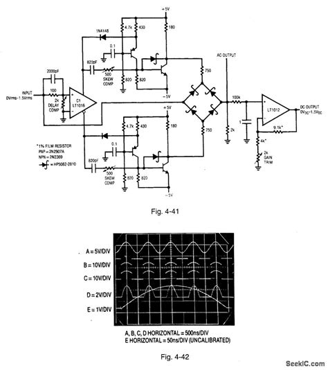 diode based circuits diode bridge based rectifier ac voltmeter power supply circuit circuit diagram seekic