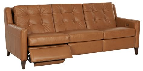 Modern Recliner Sofas Lowry Mid Century Modern Wall Hugger Reclining Collection Leather Furniture
