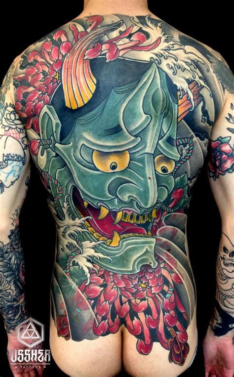 hannya mask tattoo back piece 41 best images about hannya mask tattoos on pinterest