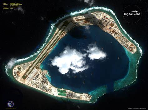worldview 4 subi reef spratly islands satellite imaging