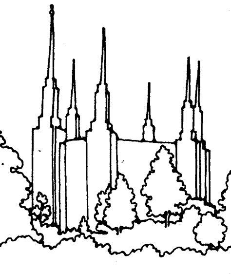 Salt Lake Temple Clip Art Clipart Best Salt Lake Temple Coloring Page