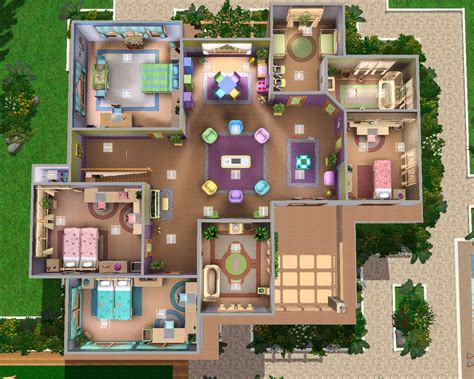 house plans for sims sims house plans sims 3 mansion floor plan houses on sims 4 house luxamcc
