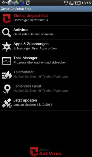 android virus scan android向け無料アンチウイルスソフトは無意味 gigazine