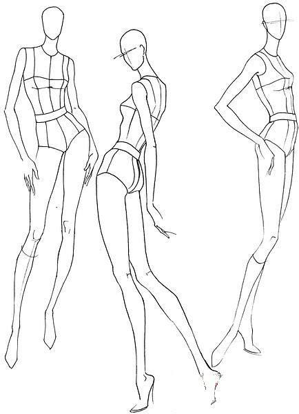 Fashion Croquis Poses のおすすめ画像 701 件 Pinterest Fashion Slides Template
