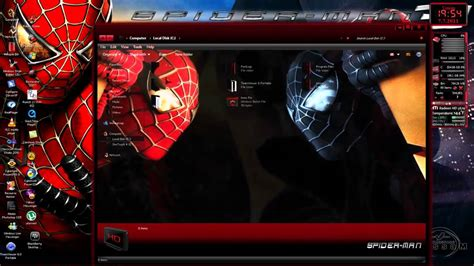 themes for windows 7 spiderman 3 extreme spiderman 3 theme for windows 7 free download