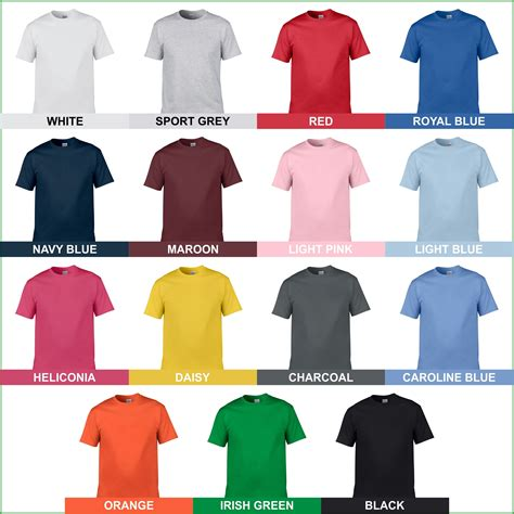Kaos Gildan Softstyle Colour 63000 Warna Original S M L Cl jual kaos polos gildan softstyle 63000 original murah