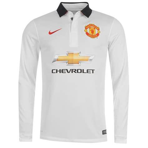 Kaos Bola Lengan Panjang jersey manchester united away lengan panjang 2015 jual jersey mu away ls 2014 2015 terbaru