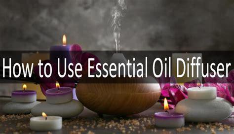 essential oil diffusers ultrasonic