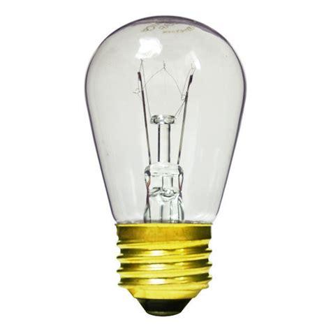 11 watt s14 bulb clear plt st45x85 11w e26c