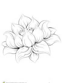 Fleur De Lotus Dessin Mandala