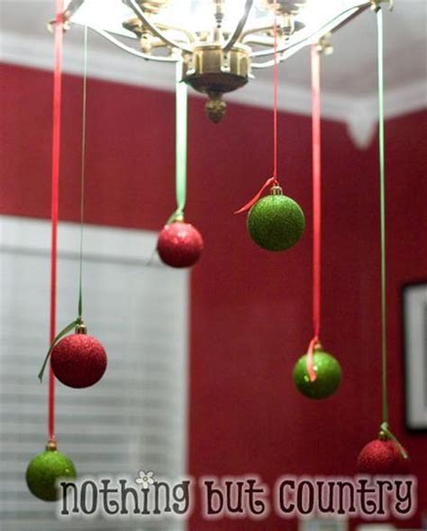 easy to make christmas decorations at home frugal christmas decorating ideas all about christmas